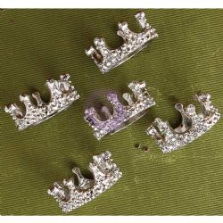 Prima Marketing Frank Garcia Memory Hardware Embellishments - French Regalia Crowns II